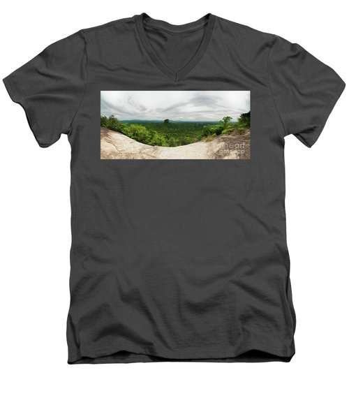 Sigiriya Panorama Men's V-Neck T-Shirt