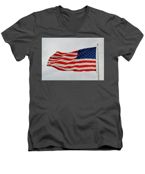 Sign Of Freedom Men's V-Neck T-Shirt