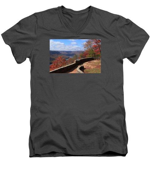Signal Point Men's V-Neck T-Shirt
