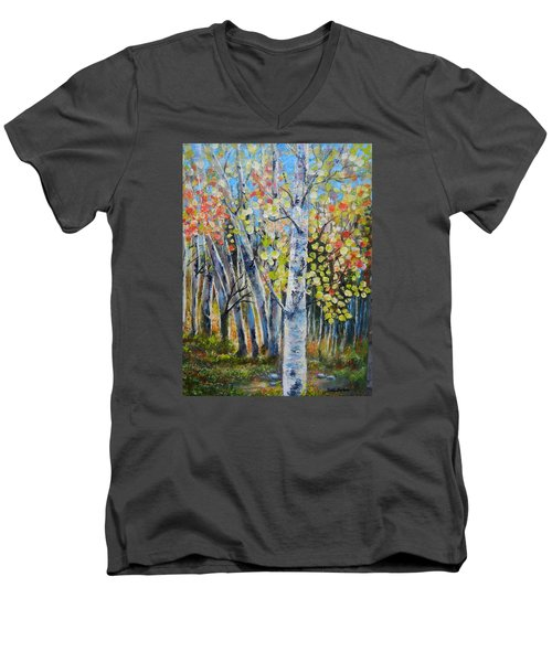 Signs Of Autumn Men's V-Neck T-Shirt