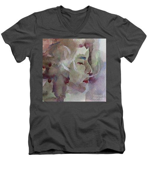 Wcp 1701 Silence Men's V-Neck T-Shirt
