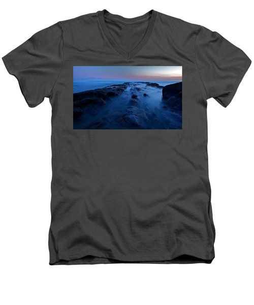 Men's V-Neck T-Shirt featuring the photograph Silence by Evgeny Vasenev