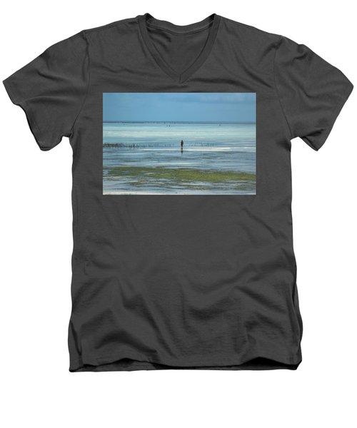 Silence Men's V-Neck T-Shirt