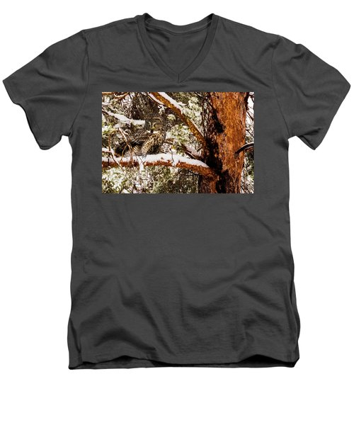 Silent Hunter Men's V-Neck T-Shirt