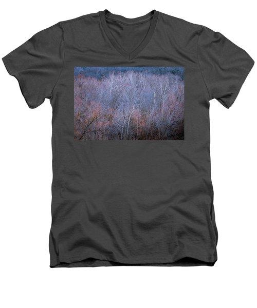 Silent Trees Men's V-Neck T-Shirt