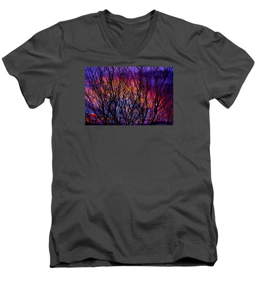 Silhouette 2 Men's V-Neck T-Shirt