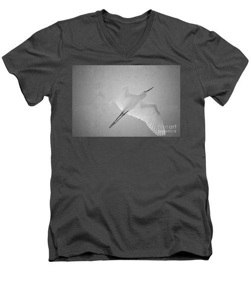 Siloutte Men's V-Neck T-Shirt
