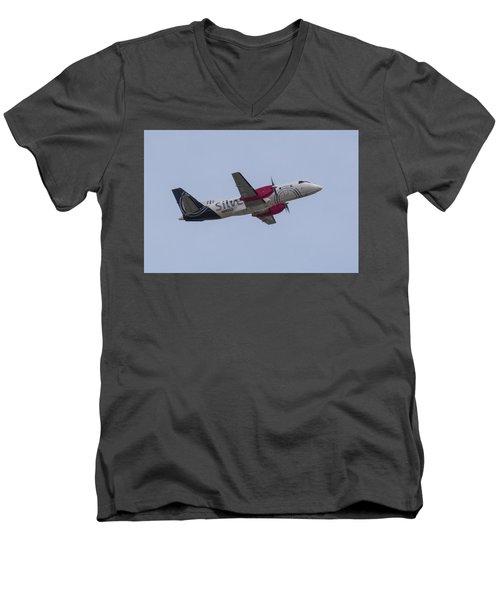 Silver Air Men's V-Neck T-Shirt