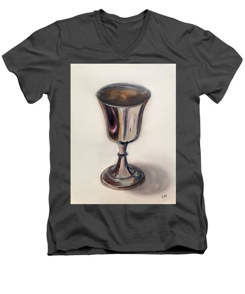 Silver Goblet Men's V-Neck T-Shirt
