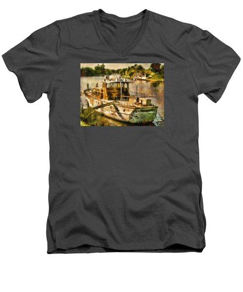 Silver Sonnet Men's V-Neck T-Shirt