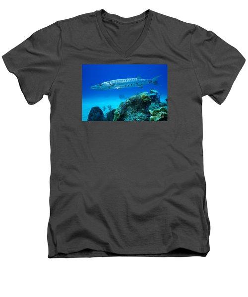 Silver Stalker Men's V-Neck T-Shirt