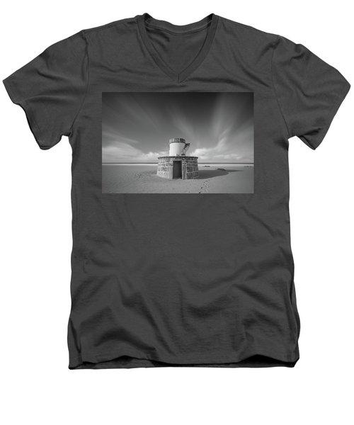 Simetrical Men's V-Neck T-Shirt