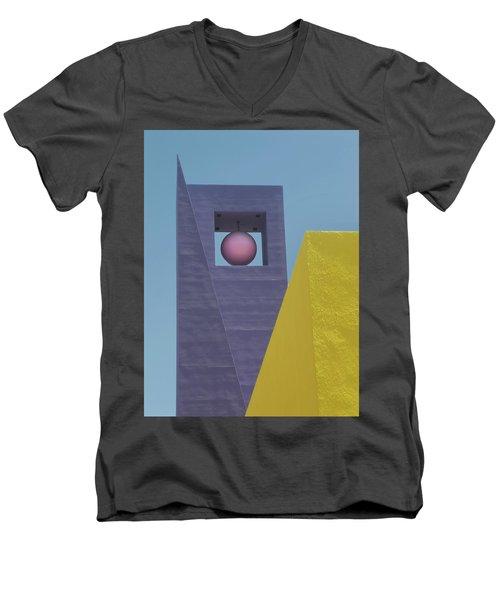 Similar Shapes Different Colors Men's V-Neck T-Shirt