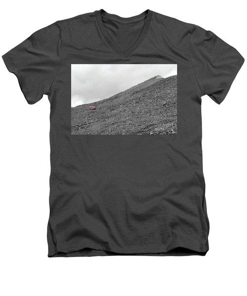 Simmon's Vision Men's V-Neck T-Shirt