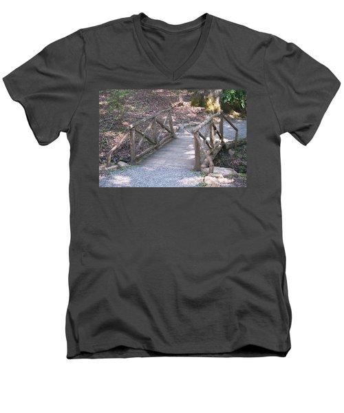 Simple Bridge Men's V-Neck T-Shirt