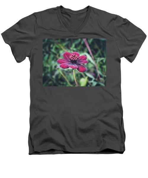 Simple Perfection  Men's V-Neck T-Shirt