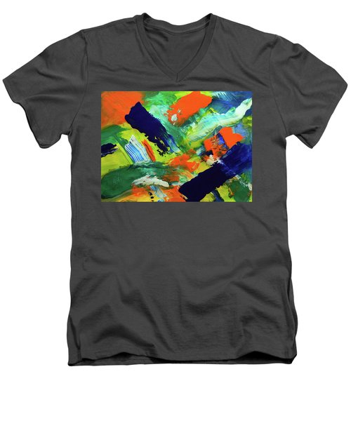 Simple Things Men's V-Neck T-Shirt by Everette McMahan jr