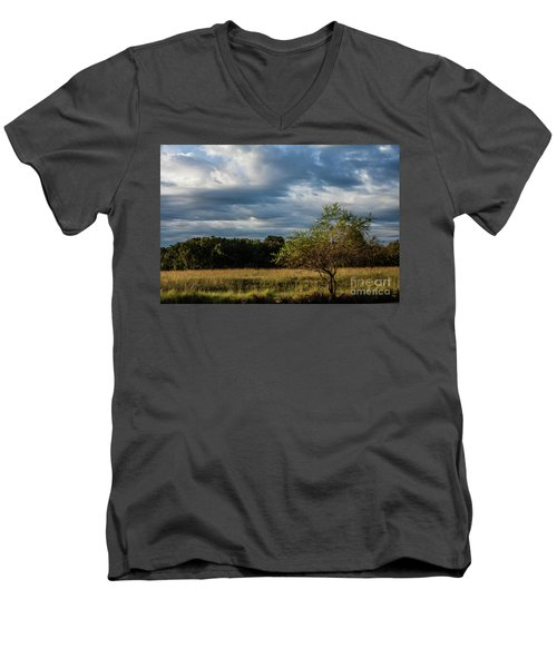 Men's V-Neck T-Shirt featuring the photograph Simplicity by Iris Greenwell