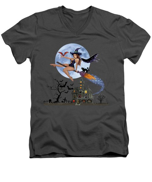 Simply Bewitch'n Men's V-Neck T-Shirt