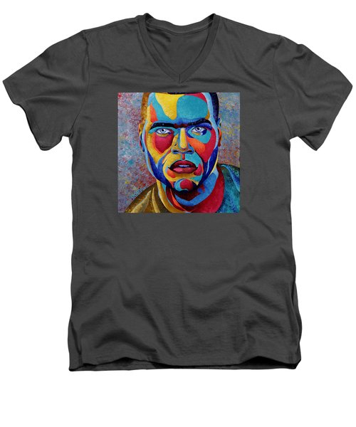 Simply Complex Men's V-Neck T-Shirt by William Roby