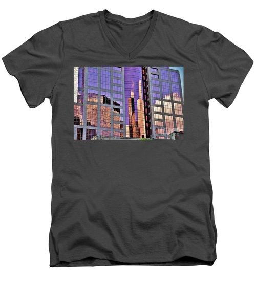 Simply Portland Men's V-Neck T-Shirt