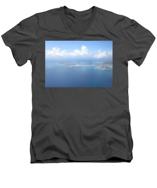 Simpson Bay St. Maarten Men's V-Neck T-Shirt