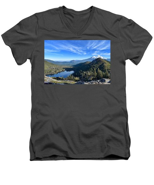Siskiyou Beauty Men's V-Neck T-Shirt