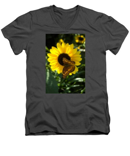 Sitting On The Sun Men's V-Neck T-Shirt