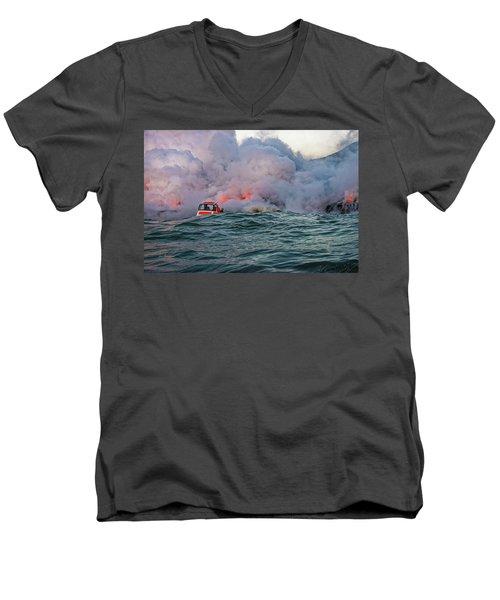 Six Pac Men's V-Neck T-Shirt