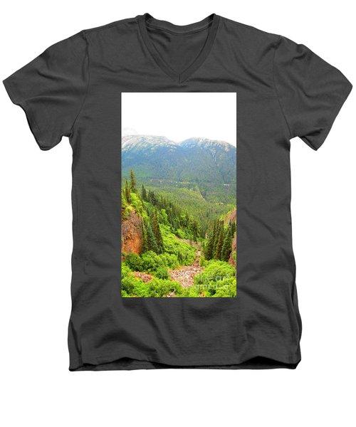 Skagway Alaska Men's V-Neck T-Shirt