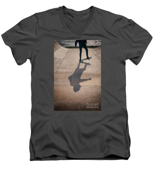 Skater Boy 002 Men's V-Neck T-Shirt