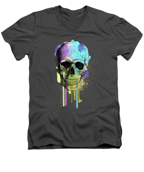 Skull 6 Men's V-Neck T-Shirt