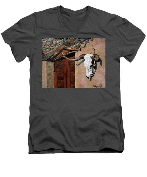 Skull En La Casa Men's V-Neck T-Shirt