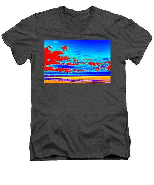 Sky #3 Men's V-Neck T-Shirt