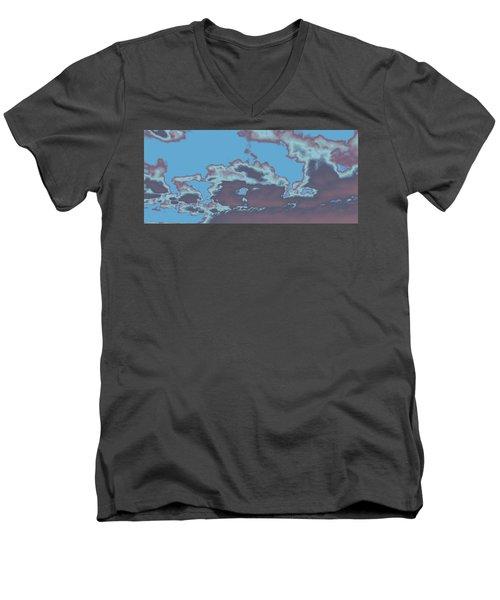 Sky #5 Men's V-Neck T-Shirt
