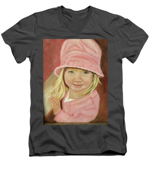 Sky In Pink Men's V-Neck T-Shirt