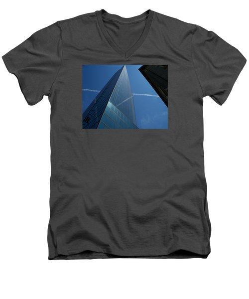 Sky Lines  Men's V-Neck T-Shirt