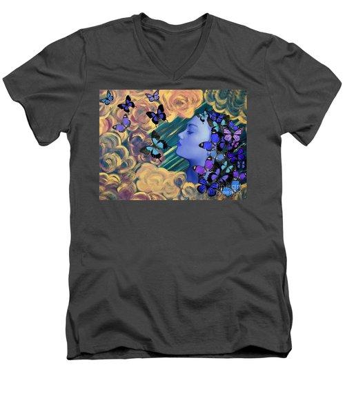 Sky Maiden Men's V-Neck T-Shirt