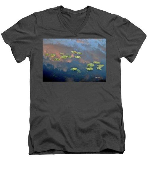 Sky Meets Water Men's V-Neck T-Shirt