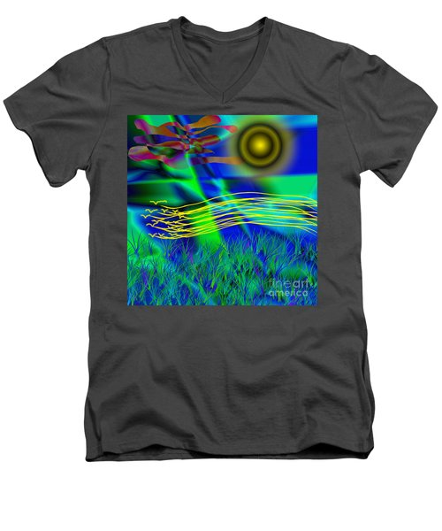 Sky Of Mind Men's V-Neck T-Shirt