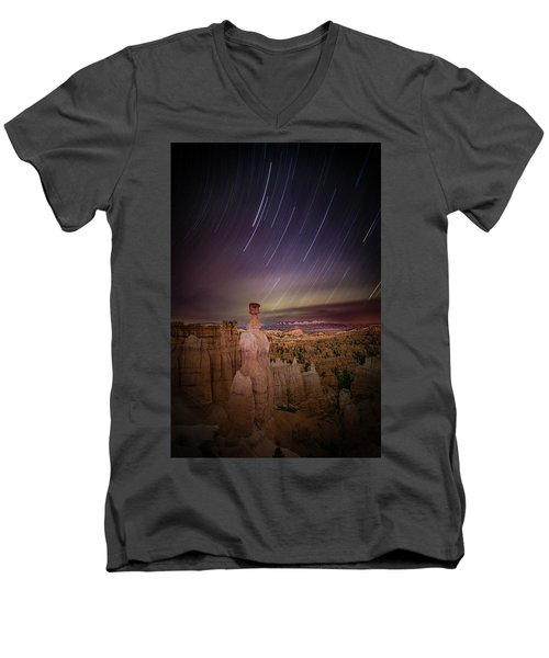Sky Scraper Men's V-Neck T-Shirt