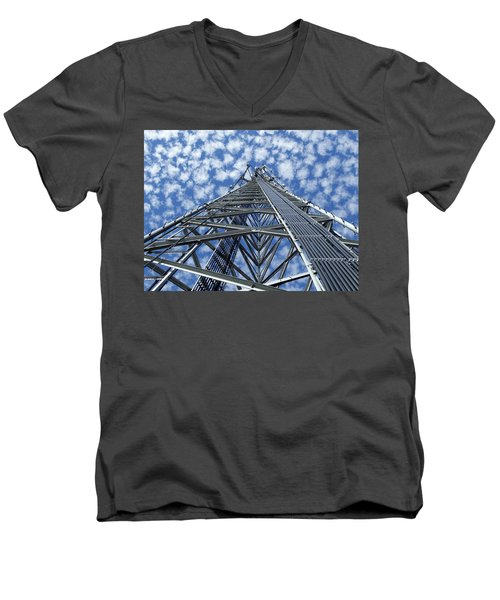 Sky Tower Men's V-Neck T-Shirt