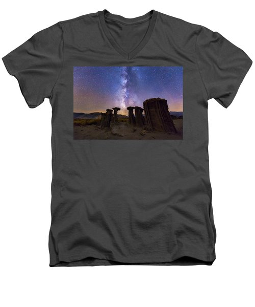 Sky Watchers Men's V-Neck T-Shirt
