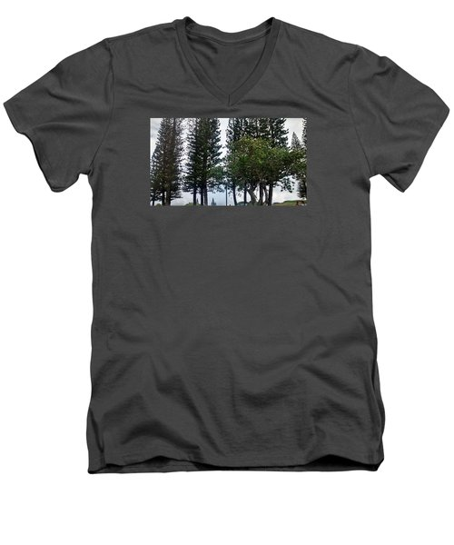 Skybound Men's V-Neck T-Shirt