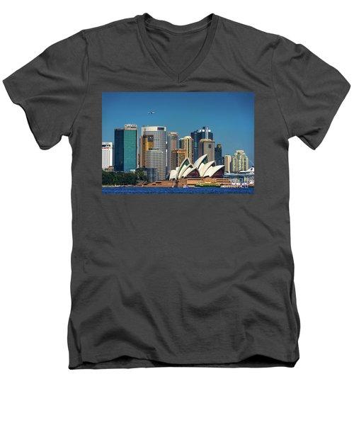 Skyline Oz Men's V-Neck T-Shirt