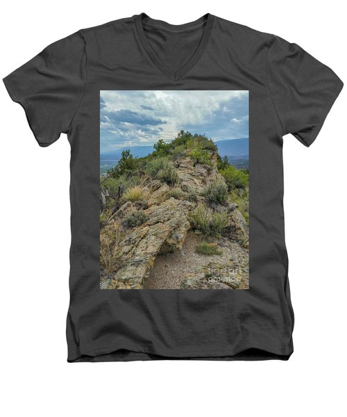 Skyline Ridge Men's V-Neck T-Shirt