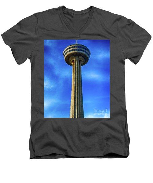Skylon Tower Men's V-Neck T-Shirt