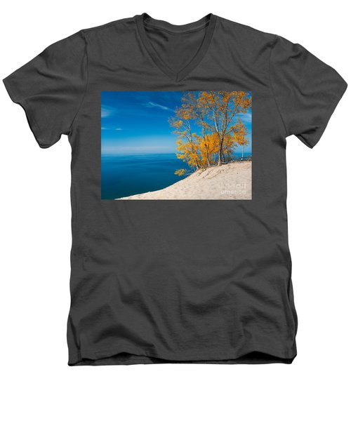 Sleeping Bear Dunes Vista 002 Men's V-Neck T-Shirt