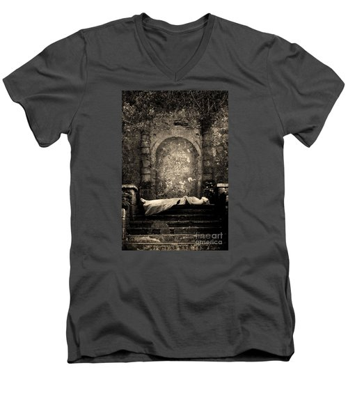 Sleeping Beauty Men's V-Neck T-Shirt