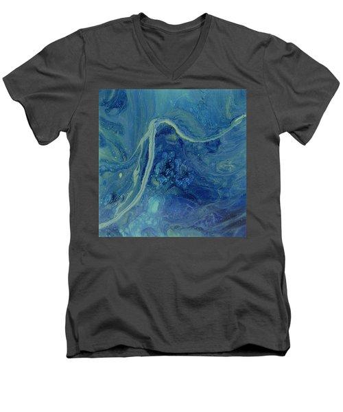 Sleeping Depths Men's V-Neck T-Shirt